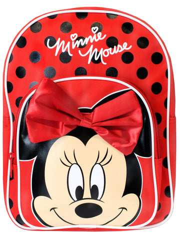 Minnie Mouse Backpack - 3D Bow