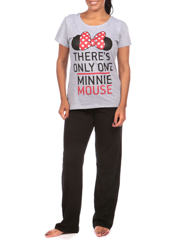 Ladies Minnie Mouse Pajamas