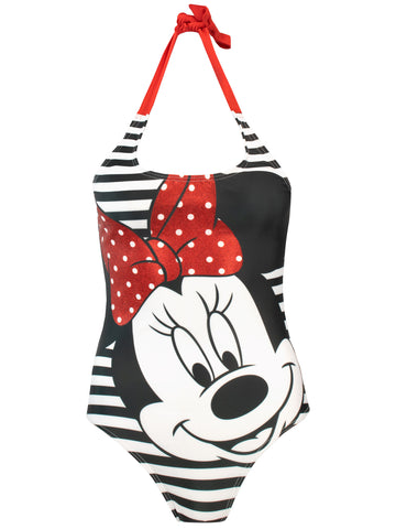 Womens Minnie Mouse Swimsuit