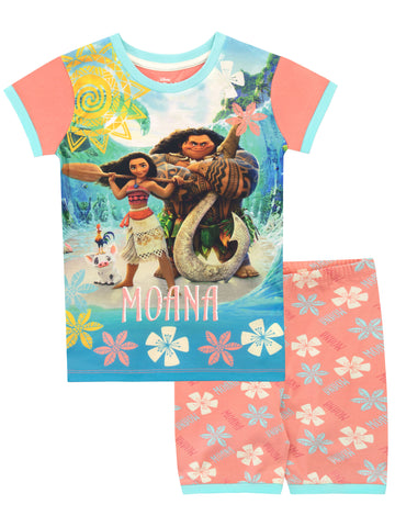 Moana Short Pajamas