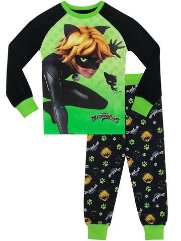 Miraculous Pajamas - Cat Noir