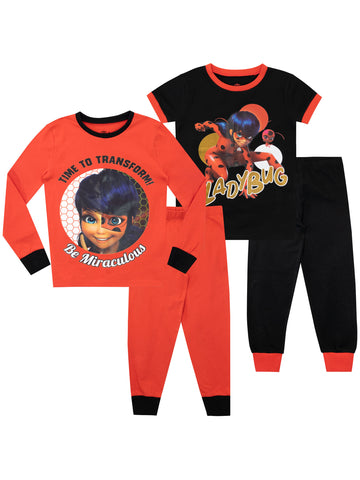 Miraculous Pack Of 2 Pajamas