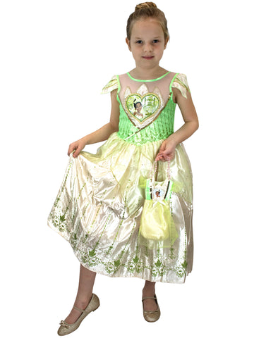 The Princess and The Frog Fancy Dress Up & Bag - Tiana