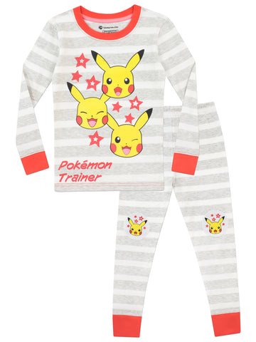 Pokemon Snuggle Fit Pikachu Pajamas