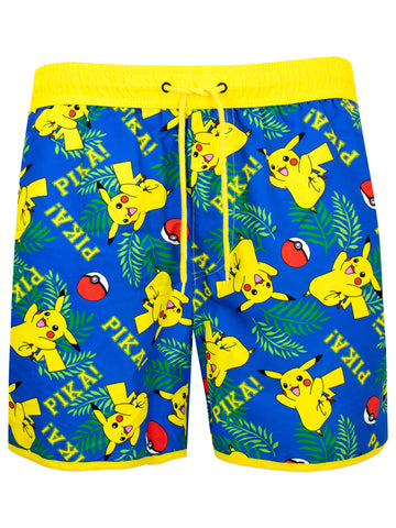 Mens Pokemon Swim Shorts