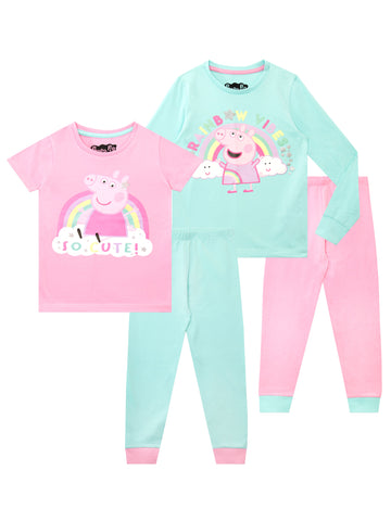 Peppa Pig Pajamas - Pack of 2