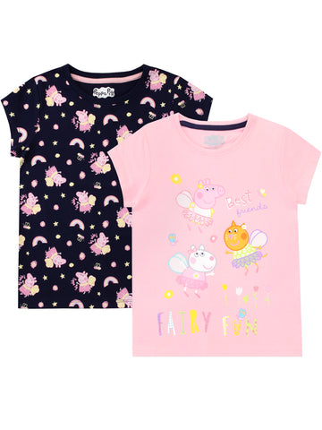 Peppa Pig T-Shirt - Pack of 2