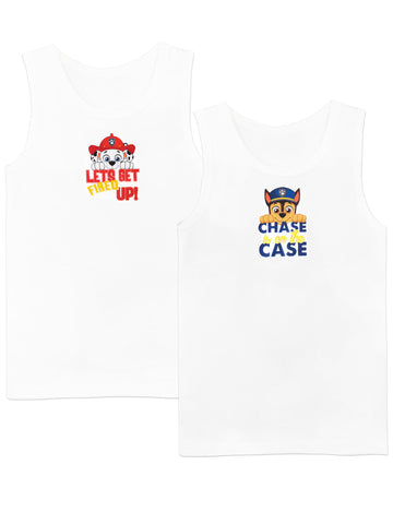 Paw Patrol Tank Tops - Pack of 2