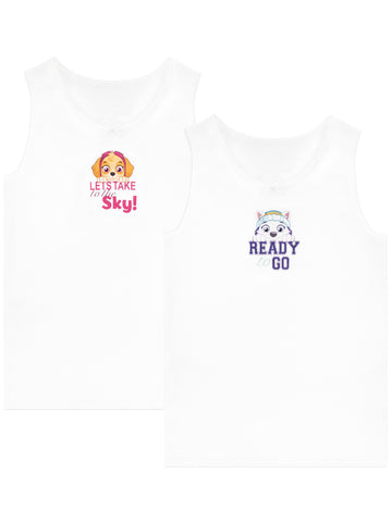 Paw Patrol Girls Camisoles - Pack of 2