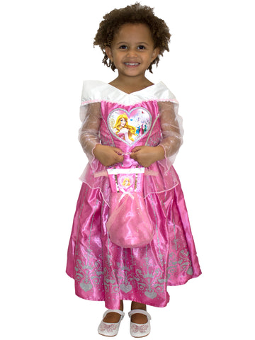 Sleeping Beauty Dress Up Costume & Bag