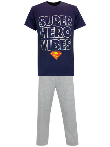 Mens Superman Pajamas