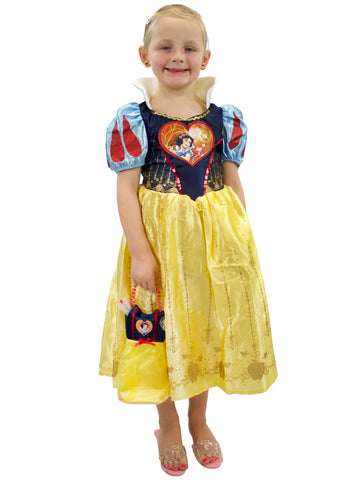 Disney Snow White Dress Up Costume & Bag