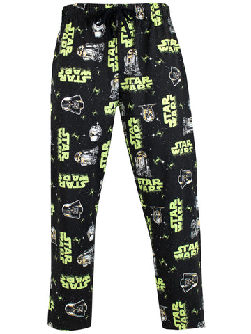 Mens Star Wars Lounge Pants - Darth Vader and Stormtrooper