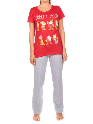 Womens Disney Snow White Pajamas