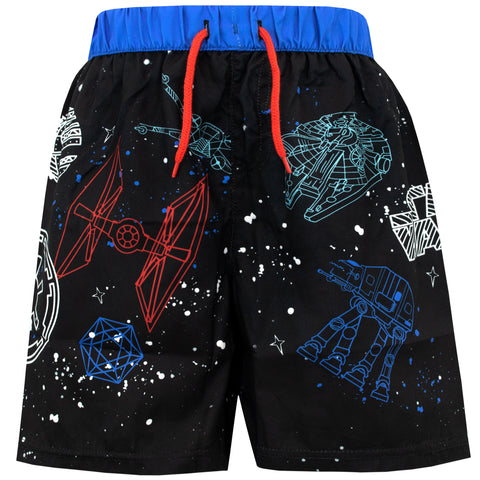 Star Wars Swim Shorts - Millennium Falcon