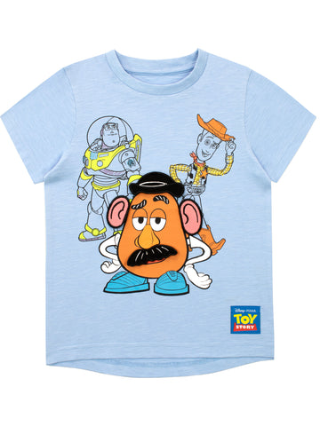 Toy Story T-Shirt - Mr. Potato Head, Buzz and Woody