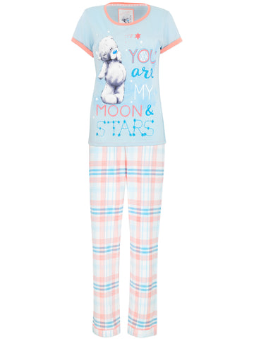 Womens Tatty Teddy Pajamas - Moon & Stars