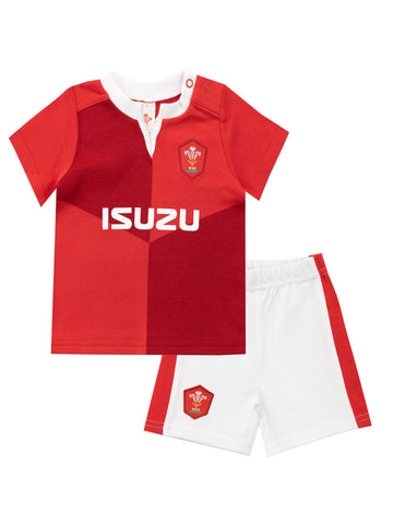 Baby Welsh Rugby Union Pajamas