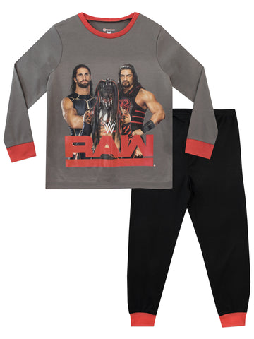 WWE Pajamas - Finn Balor, Seth Rollins and Roman Reigns