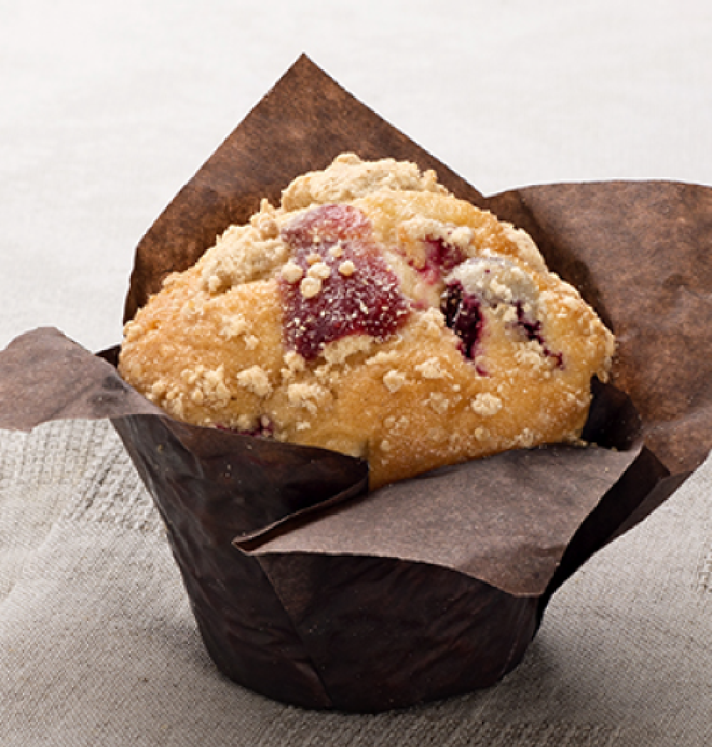 MUFFIN AVOINE CANNEBERGE et CHOCOLAT