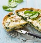 QUICHE ÉPINARDS +BRIE