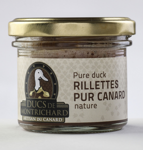 RILLETTES PUR CANARD NATURE