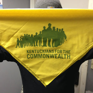 Yellow KFTC Bandana