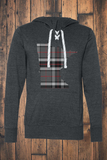 Minnesota Mixed Plaid Jersey Hooded Pullover