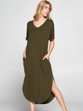 Butter Soft Maxi Dress (Available in 3 colors)