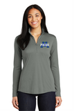 Ladies PosiCharge Competitor 1/4 Zip Pullover