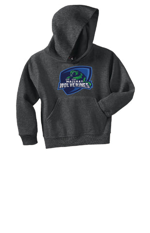 Youth NuBlend Pullover Hooded Sweatshirt - Wolverine