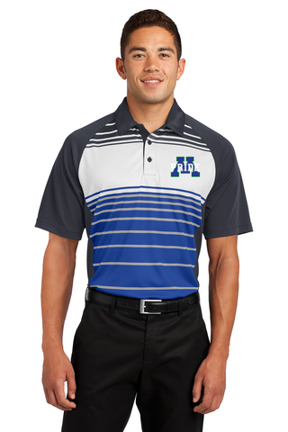 Dry Zone Sublimated Stripe Polo