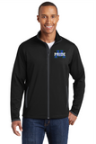 Men's Stretch Full Contrast Full-Zip Jacket