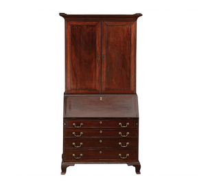 Antique Secretary, Mahogany
