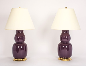A Pair of Christopher Spitzmiller Nicholas  Lamps