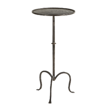 Hand-Forged Iron Drinks Table