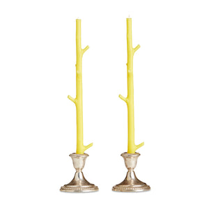 Faux Bois Candles (Set of 2)