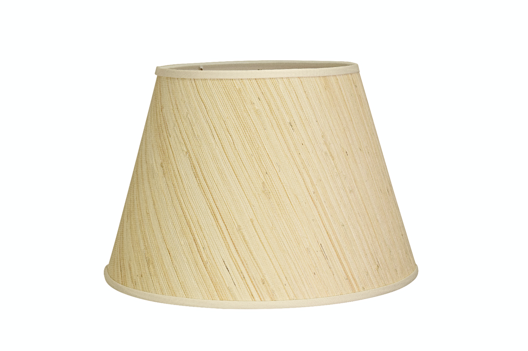 Grasscloth Lampshades
