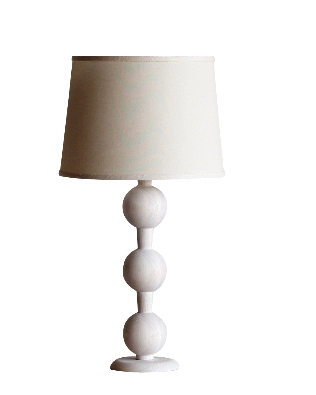 Hugo Table Lamp in Whitewash