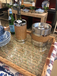 Wicker Wine Chiller