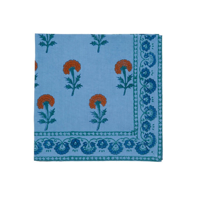 More Block-Printed Table Linens by Marigold Living