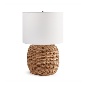 Woven Rattan Table Lamp, Short