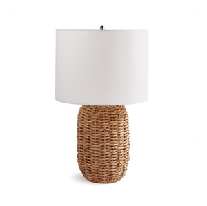 Woven Rattan Table Lamp, Tall