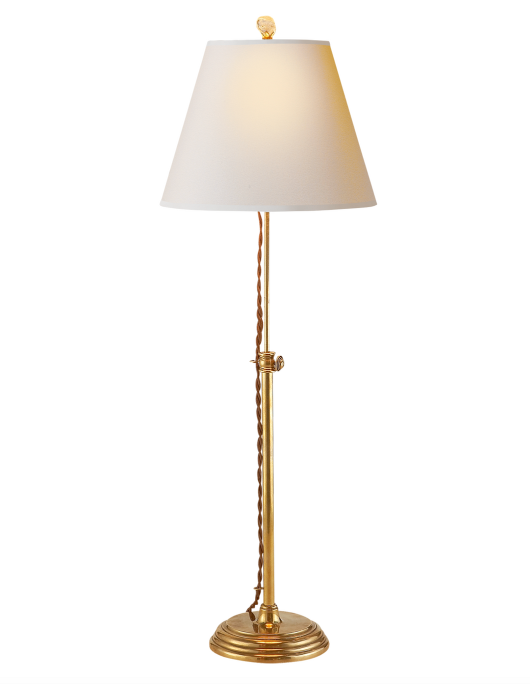 Adjustable Table Lamp with Exposed Cord