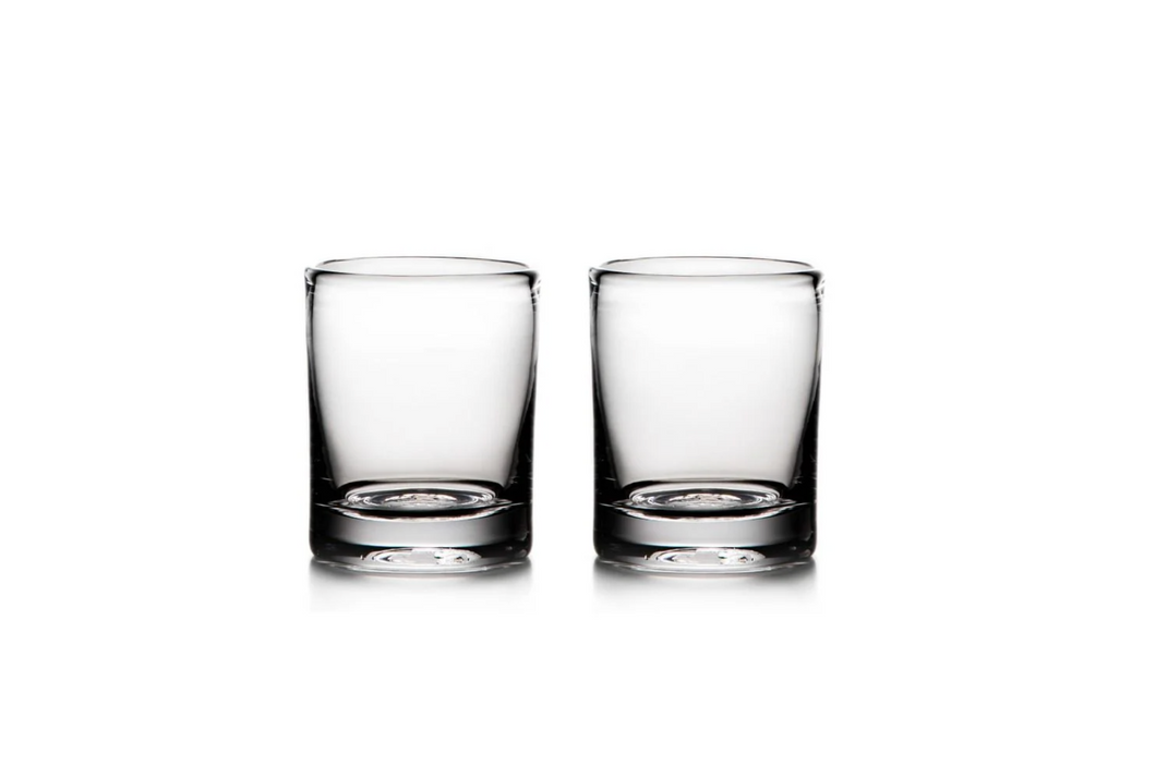 Ascutney Whiskey Glasses by Simon Pearce (Set of 2)