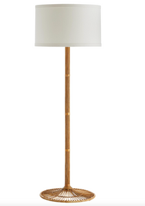 Split Reed Style Standing Lamp