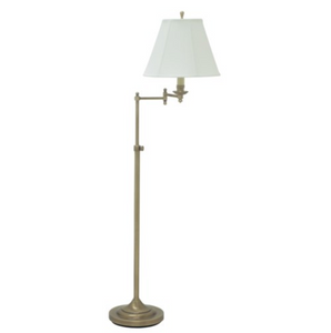 Swing Arm Floor Lamp with Adjustable Height