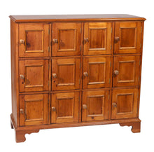 Antique 12-Door Apothecary, Pine