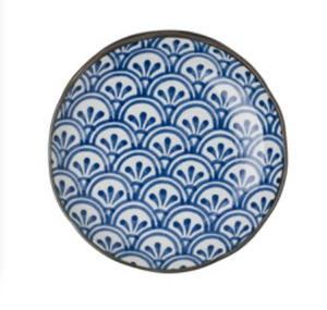 Scallop Leaf Side Plates / Set of 8