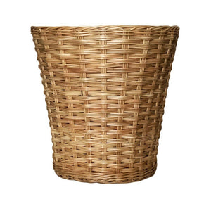 Wicker Waste Paper Basket